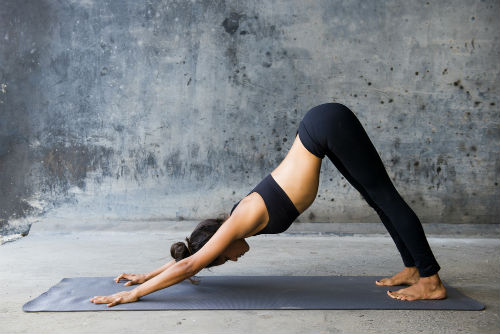 using yoga to lose weight
