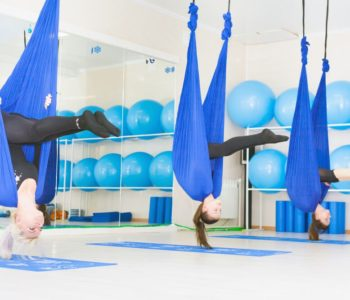 Aerial Yoga Fitness Trend